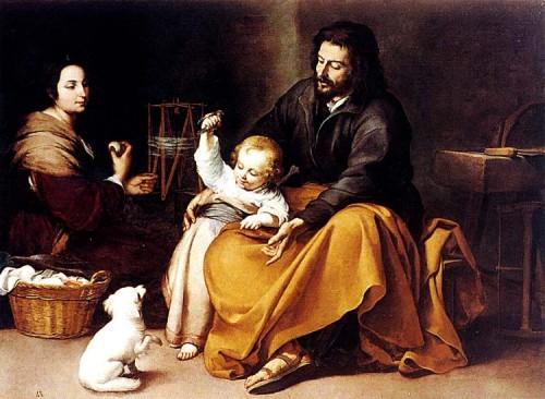 sagrada familia de murillo