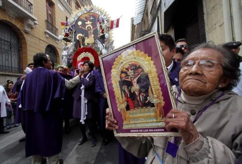 senor de los milagros procesion