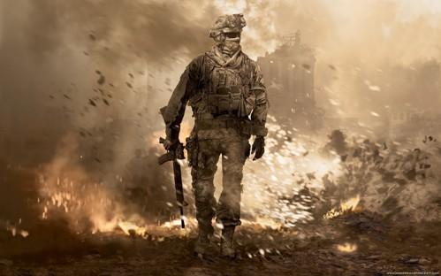 soldado en la guerra