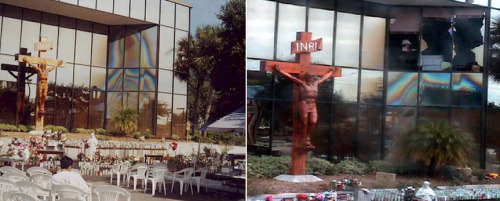 virgen de clearwater antes y despues