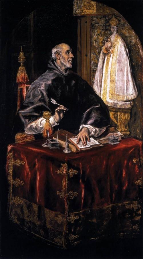 El Greco san ildefonso