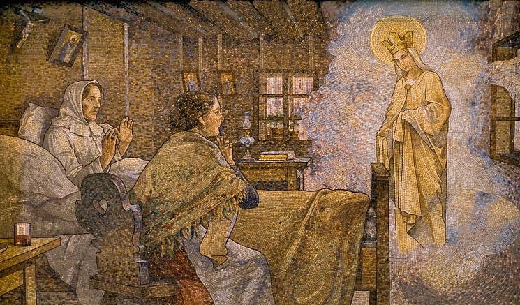 María Auxilio de los Cristianos, la Lourdes de Austria, Rep. Checa (13 ene)