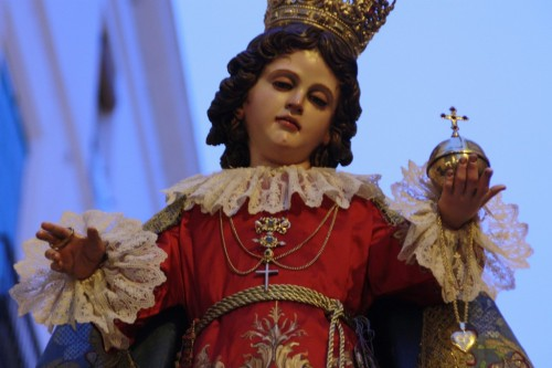 Niño Jesús de Praga del Santo Ánge
