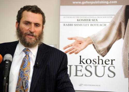 Rabino Shmuley Boteach Jesus Kosher