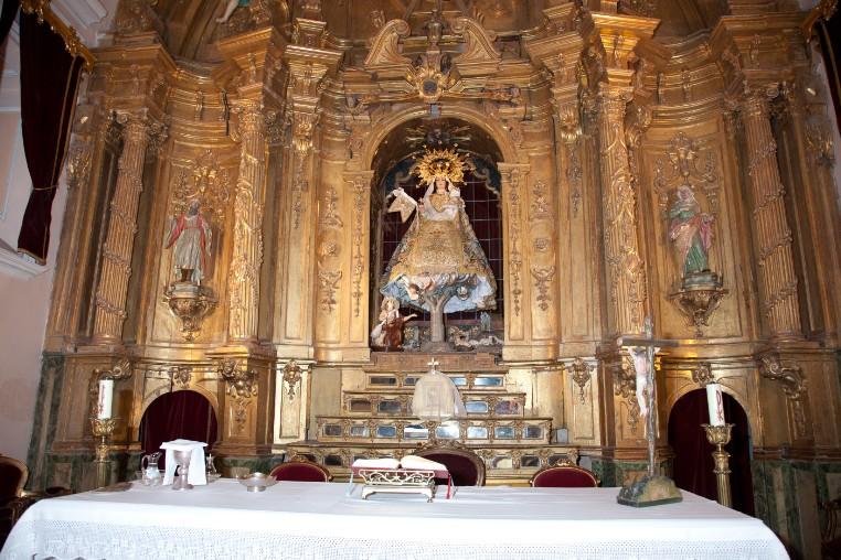 El Milagro de la Multiplicación del Vino: Virgen de la Paz de Alcobendas, España (24 ene)
