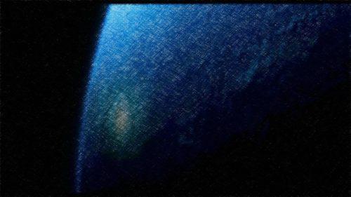 corteza terrestre vista desde el espacio