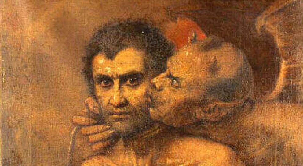 Posesión Demoníaca Demonio-habla-a-un-hombre