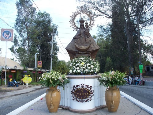 estatua de virgen de santa anita