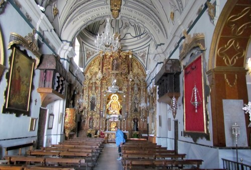 interior iglesia de ronda