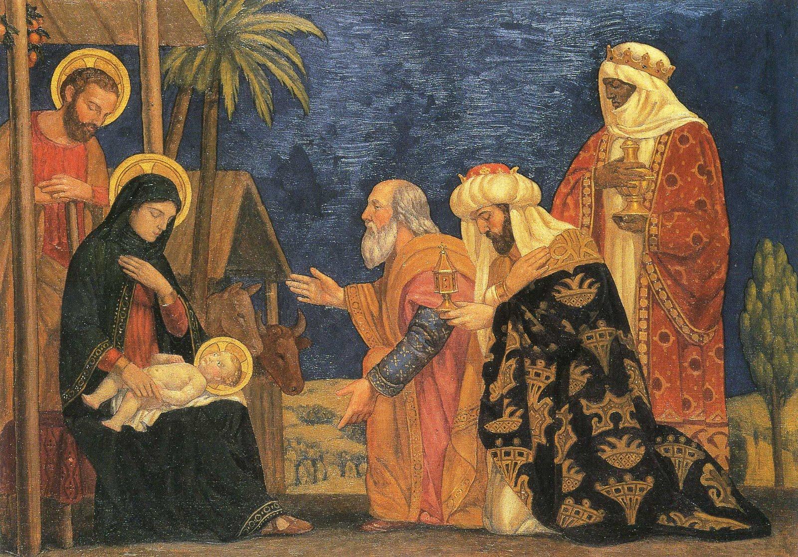 Epifanía del Señor, Fiesta de los Reyes Magos (6 ene)