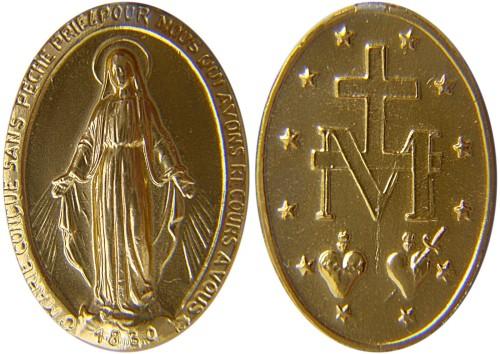 medalla milagrosa fondo