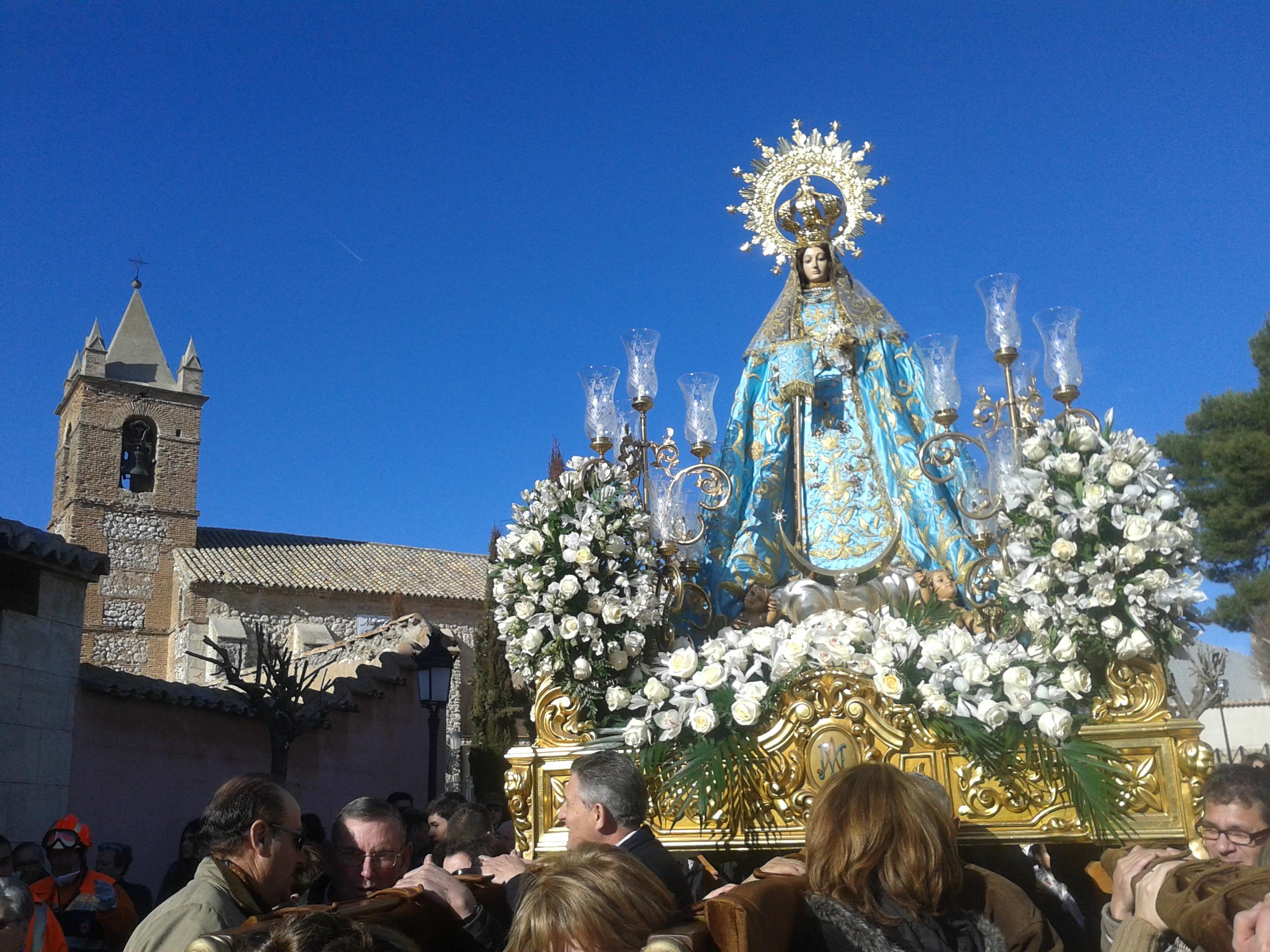 Virgen de la Paz de Villarta de San Juan y su extraordinaria Fiesta de las Paces, España (23 ene)