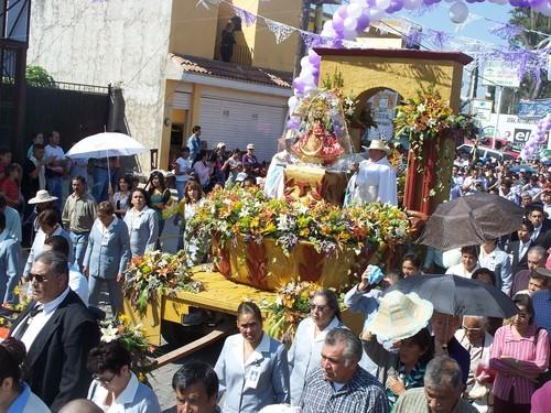 procesion virgen de santa anita