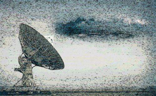 radiotelescopio y alien