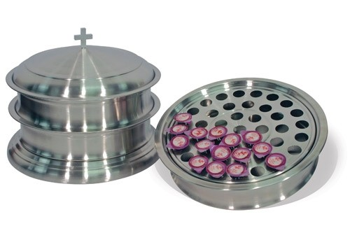 recipiente masivo de potes de comunion