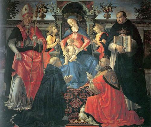 santo_tomas_virgen_entronizada_domenico_ghirlandaio_1486