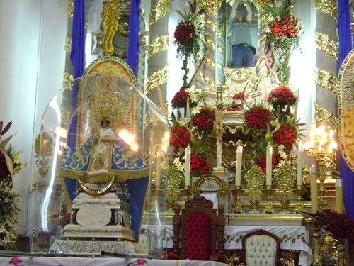 virgen de santa anita en su templo