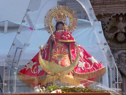 virgen peregrina de santa anita