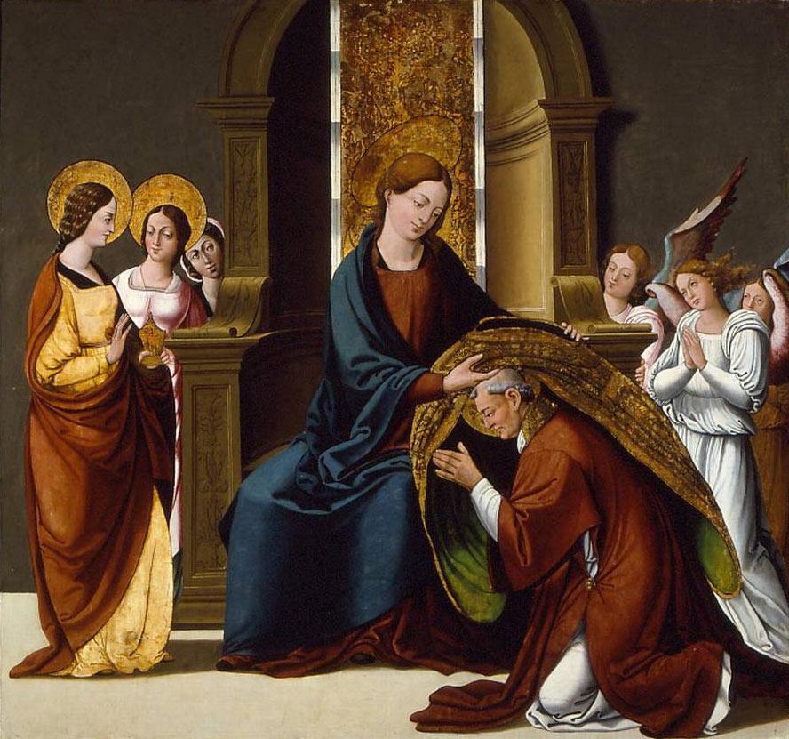 La Virgen Impone a su Capellán, la Casulla de San Ildefonso, España (dic, 23 ene)