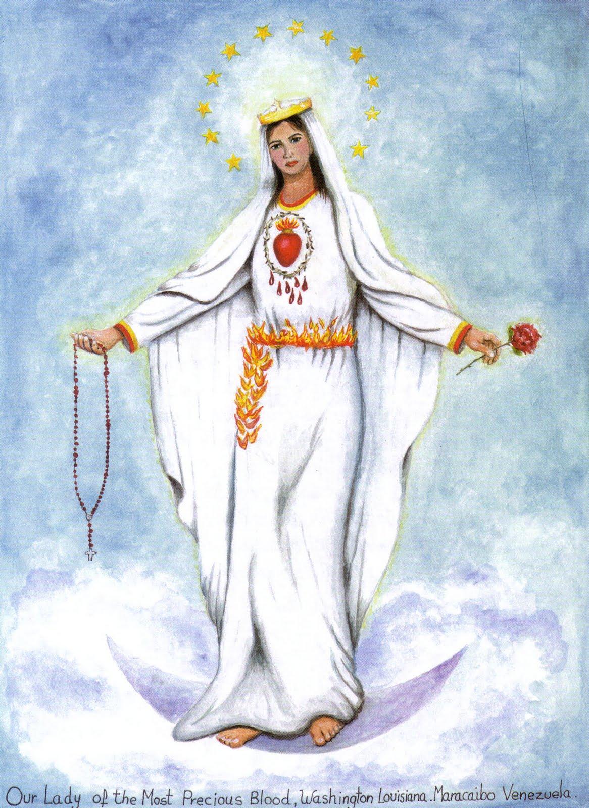 Nuestra Señora de la Preciosísima Sangre, Forma su Armada, Venezuela (28 ene)