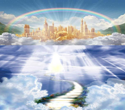 ESCALERA a la jerusalen celestial