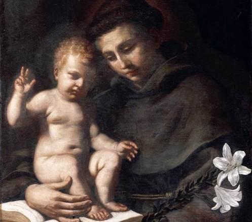 Guercino_Antonio_ de Padua