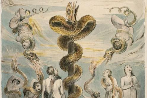 William Blake La Serpiente de Bronce
