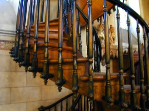 escalones de la escalera de loreto