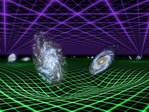 las ondulaciones en el tejido del espacio-tiempo