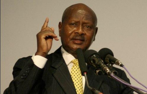 presidente Yoweri Museveni de uganda