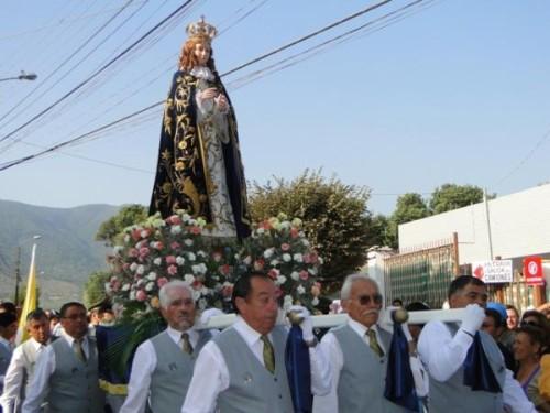 procesion de la purisima de limache