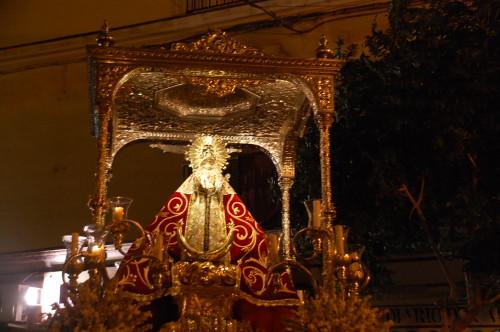 procesion de virgen de los remedios de chiclana