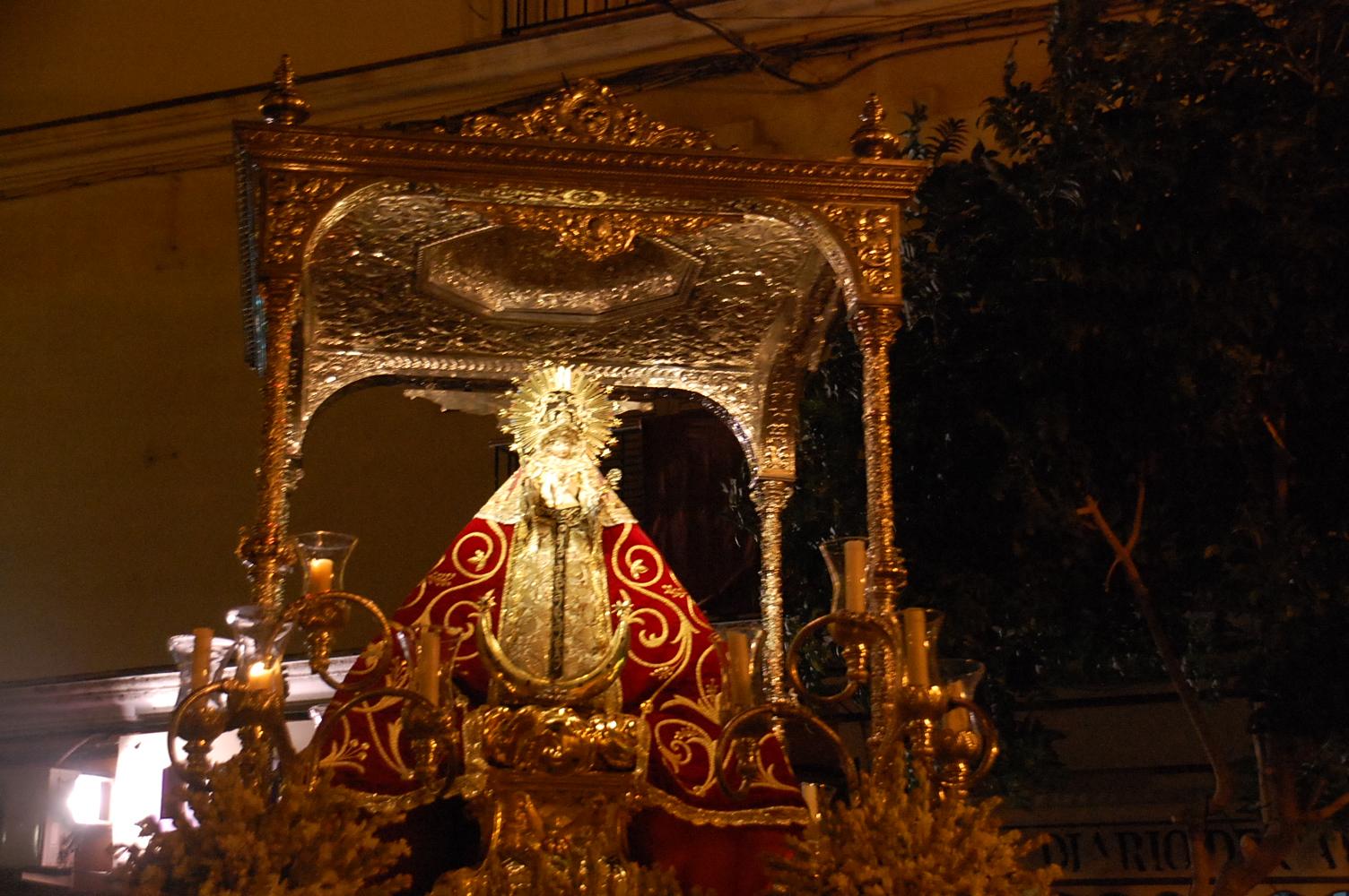 El Remedio a los Infortunios: Nuestra Señora de los Remedios, Chiclana de la Frontera, España (27 feb y 8 sept)