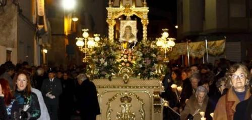 procesion nocturna mutxamel