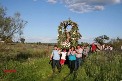procesion virgen de guia