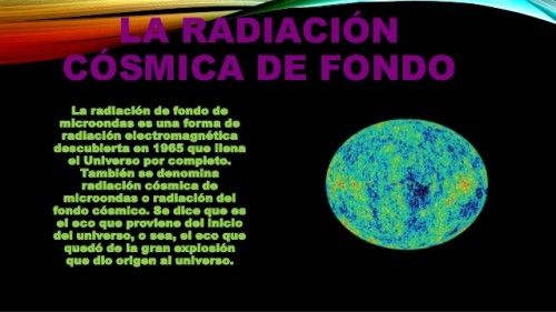 radiacion cosmica de fondo