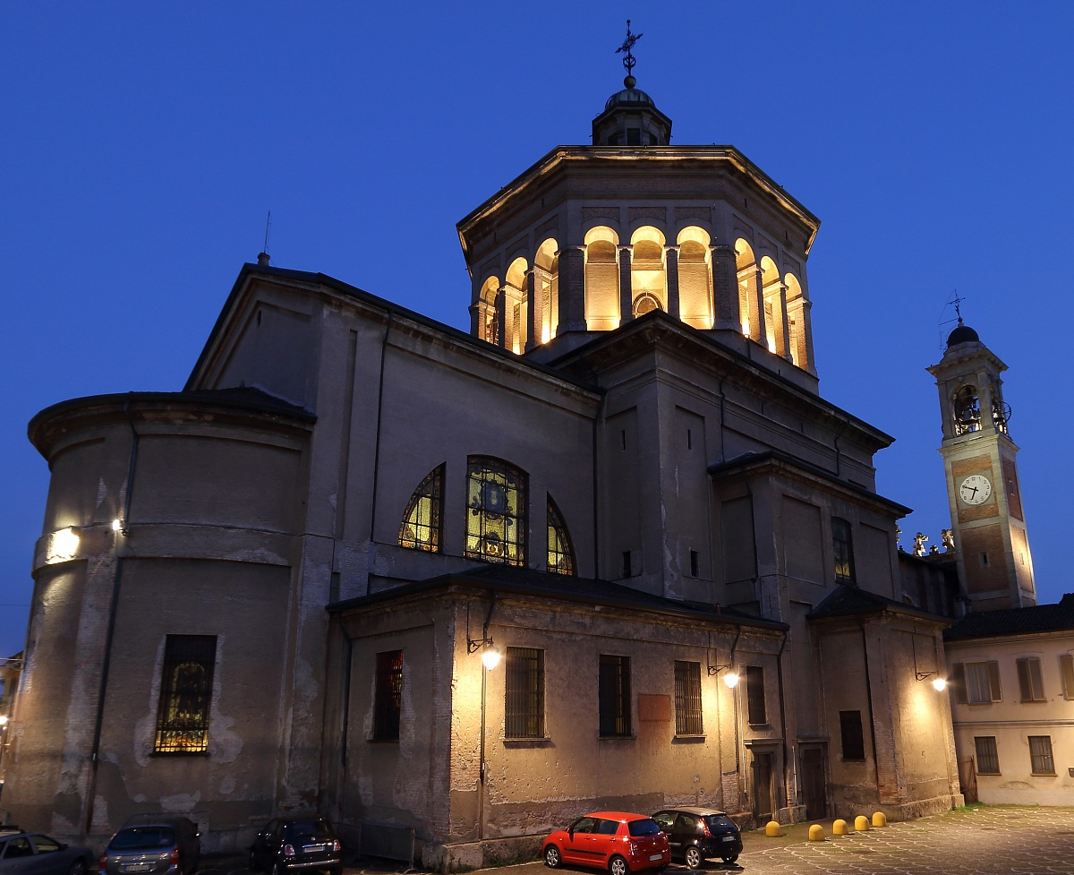 Nuestra Señora de las Lágrimas de Treviglio, las Tropas Francesas se Conmueven, Italia (28 feb)