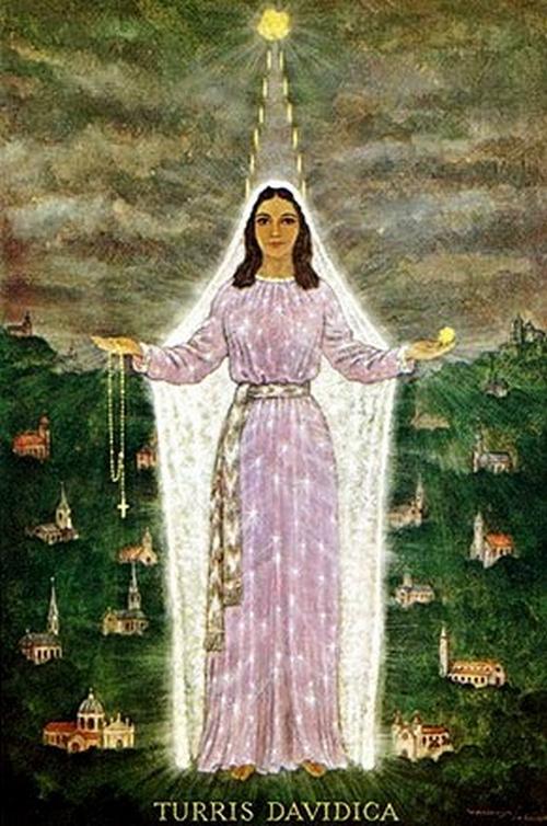 Turris Davidica, mensajes de la Virgen de Pruebas y Desastres, Holanda (11 feb)