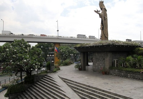 virgin-mary-edsa-shrine-monument-manila-philippines