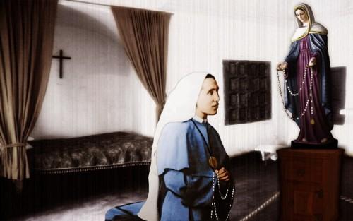 Irmã Amalia e Nossa Senhora das lágrimas