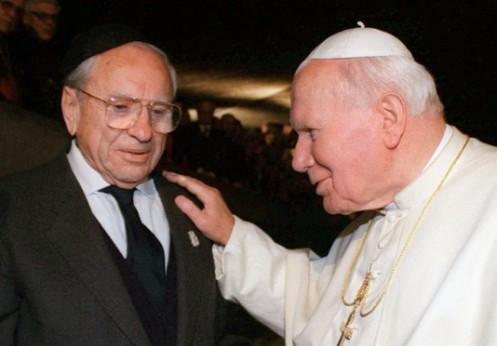 Jerzy Kluger y Juan Pablo II