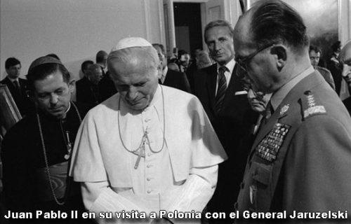 Juan Pablo ii en su visita a Polonia