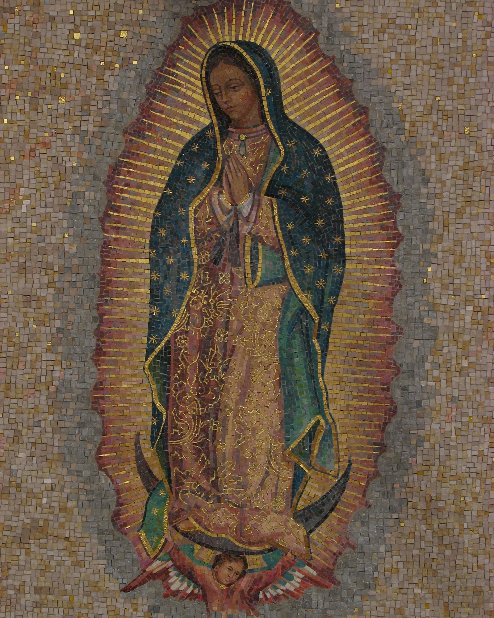 Virgen de Guadalupe de Cochabamba, Imagen que se Escarcha, Bolivia (25 mar)