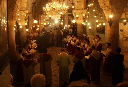 Jueves santo en el Santo Sepulcro