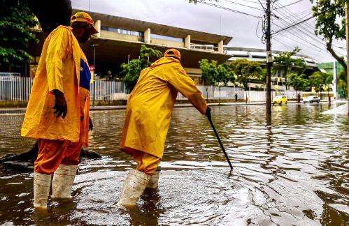 lluvias en rio