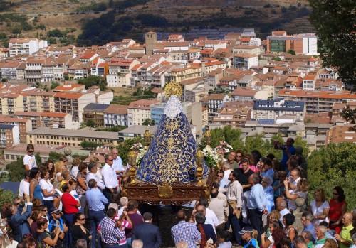 procesion de la virgen del castañar
