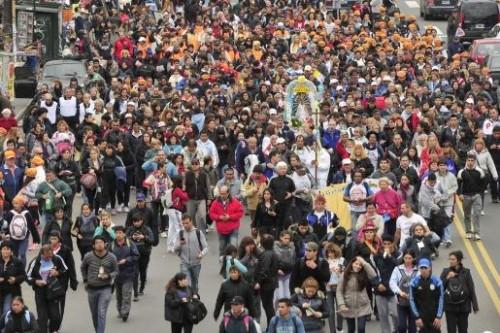 procesion de punta corral