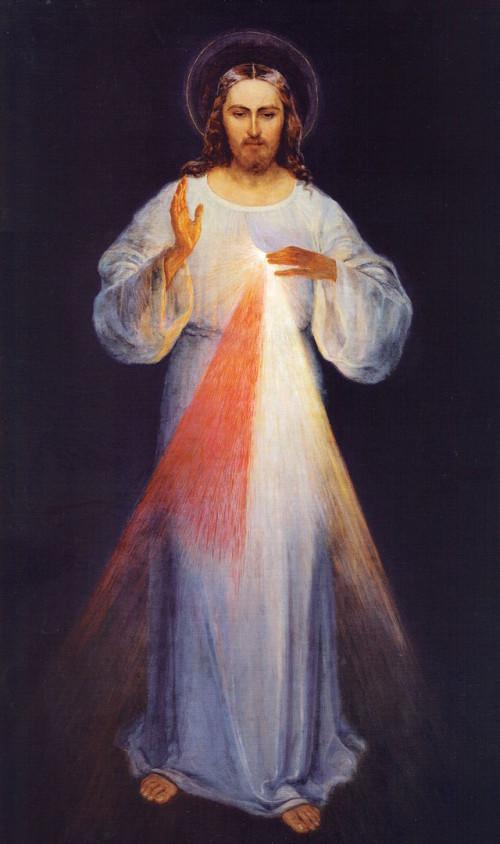 Jesus de la misericordia Kazimirowski