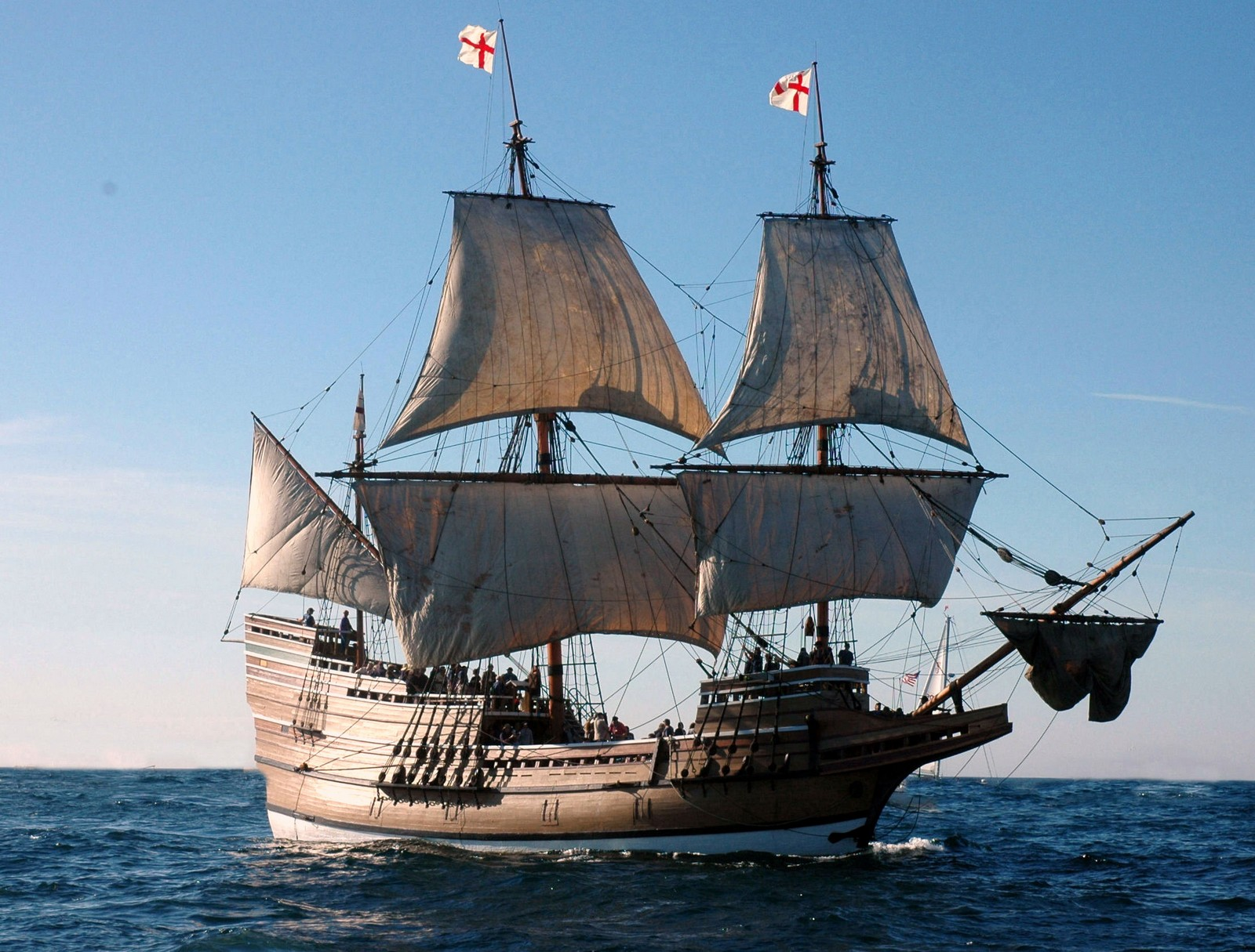 What did the mayflower look like 10