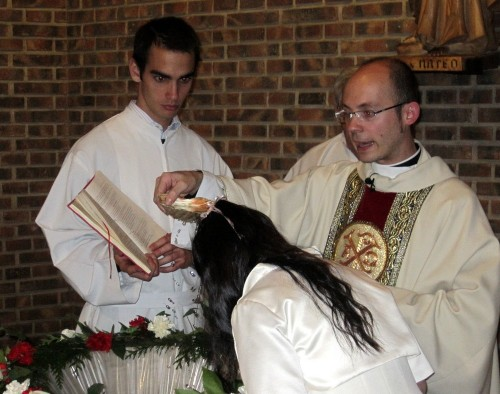 bautismo en sabado pascual